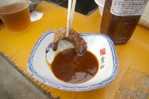 焼肉のたれでお肉をさらに美味しく!